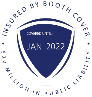 Oz Photo Booths - 20 Million Badge - January 2022